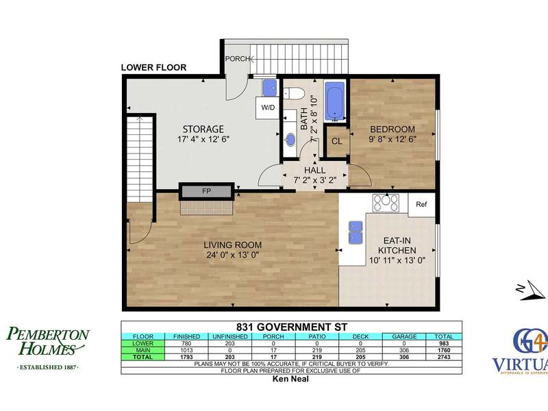Lower Floor Plans